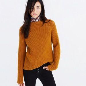Mustard Madewell Northfield Sweater Sz Medium